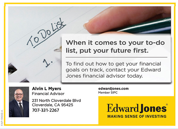 Alvin L Myers, Financial Advisor, Edward Jones