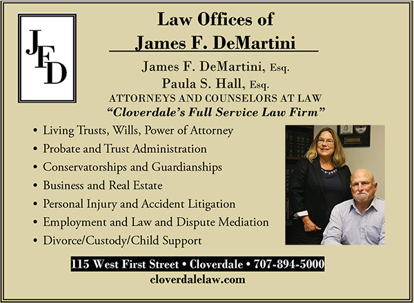 Cloverdale's Full Service Law Firm