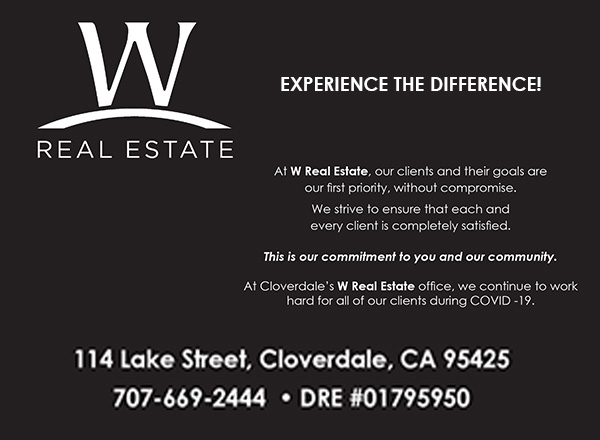 W REAL ESTATE HEALDSBURG