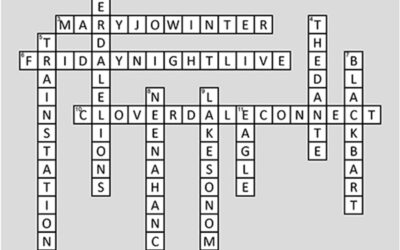 Cloverdale Connect Crossword Puzzle Answers from July 2020 Issue