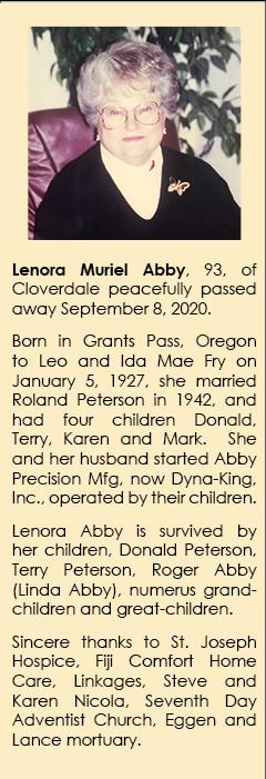Lenora Murel Abby