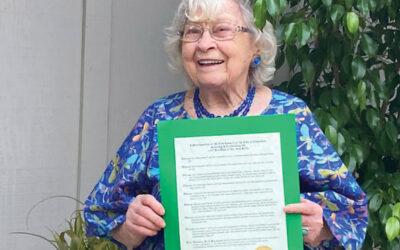 Ann Gillis turns 100