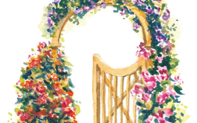 """Through the Garden Gate"""