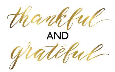 Grateful for Reader Comments