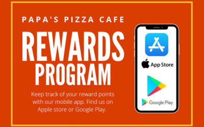 Papa's Pizza Rewards Program