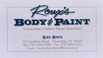 Roux Body & Paint
